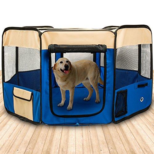 Box per cani - BIGWING Style Recinzione per cuccioli Grande recinto per animali da usare all'interno...