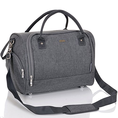LCP Kids Wickeltasche Sydney Gray