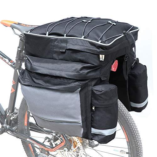 COFIT Borsa a Bauletto per Bici 68L, Borsa Portapacchi Posteriore per Bicicletta di Grande...