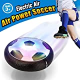 Pallone da Calcio da Casa Fluttuante - VIDEN Air Ball Calcio da Interno con LED Luce, Giocattoli Sportivi per Bambini Natale Regalo, Football Gioco Indoor & Outdoor Air Power Soccer