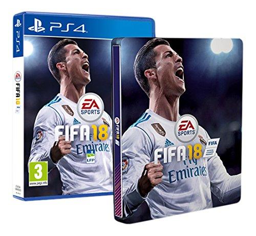 FIFA 18 + Steelbook - PS4
