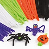 Halloween Pipe Cleaners for Children for Crafts (Pack of 120)