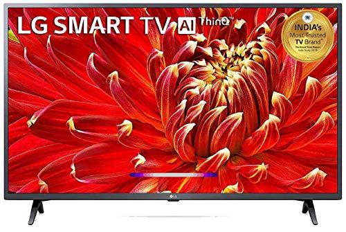 LG 108 cm (43 inches) Full HD Smart LED TV 43LM6360PTB (Dark Iron Gray) (2019 Model)