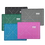 UESTA A3 (18L x 12W Inch) (450 x 300 mm) Self Healing 5 Schichten PVC Cutting Mat Schneidematte (Grau)