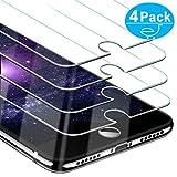 Beikell [4 Stück Panerglas Displayschutzfolie für iPhone 8, iPhone 7, iPhone 6S und iPhone 6-9H Härte Panzerglas Schutzfolie, Ultra-HD, Kratzfest, Blasenfrei