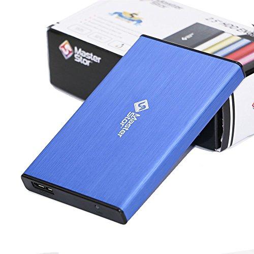 MasterStor - Hard disk esterno, unità di disco rigido esterna, portatile, con USB 3.0,...