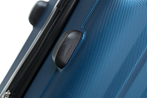 BEIBYE TSA-Schloß 2080 Zwillingsrollen 3 tlg. Reisekofferset Koffer Kofferset Trolley Trolleys Hartschale (Hellblau) - 4