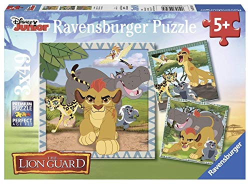 Ravensburger Italy Puzzle per bambini-3x49 Pezzi,, 09348