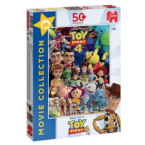 Jumbo 19755 Disney Pixar Toy Story 4 - Puzzle da collezione, multicolore