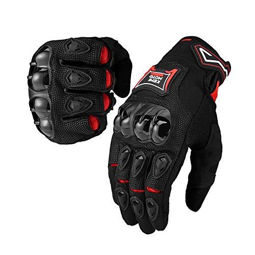 Motorrad Handschuhe Sport Handschuhe Touchscreen Atmungsaktiv Anti RutschFahrad Handschuhe Sommerhandschuhen Ideal für Motorrad Radfahren Camping Outdoor 1