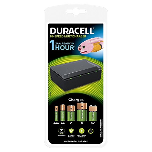 Duracell Multi Charger for AA/AAA/C/D / 9V