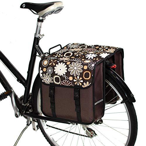 BikyBag Clásica Doble alforjas Bolsa para Bicicleta Mujer - Hombre