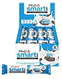 PhD Nutrition Smart Bar, Cookies and Cream, 12 x 64g