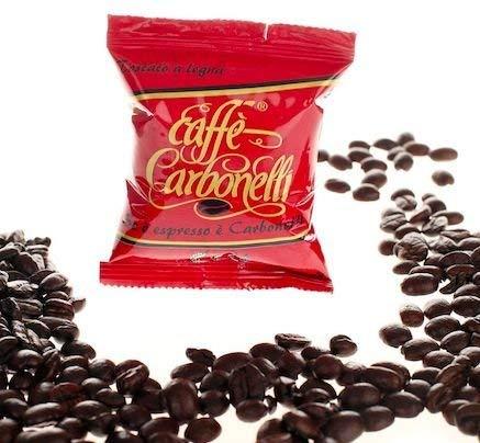 Caffè Carbonelli Miscela Forte - Confezione da 100 Capsule - Compatibile Lavazza Espresso Point