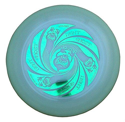 Ultimate Frisbee Discraft Ultra Star GHOST NIGHT GLOW - noctilucent de color verde metálico