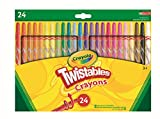 CrayolaTwistables Crayons, Multi-Colour, Pack of 24