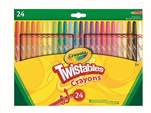 crayola crayons 24 count toys