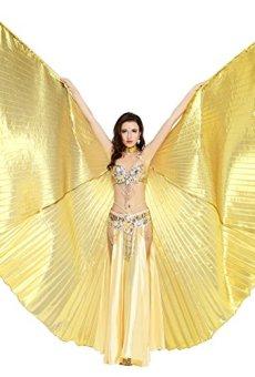 Dance Fairy danza del vientre Isis alas de regalos de vacaciones (Ne Pas incluye falda y otros accesorios)