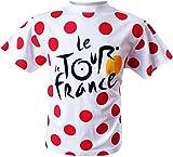 Tour de France tdf-se-3065Unisex T-Shirt Child, Dots, UK: 10/12a/12A (Manufacturer's Size: 10)