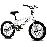 KCP BMX KCP Doom - Bicicleta infantil, rotor 360 Freestyle, color blanco, 50,8cm (20pulgadas)