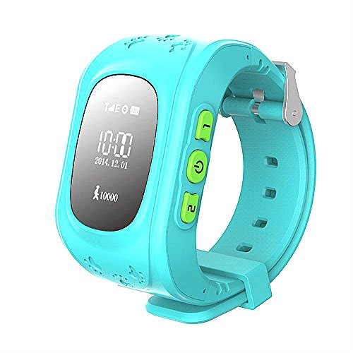 Hangang GPS tracker orologio per bambini, smartwatch bambini con sim gps, Anti-roaming, chiamate...