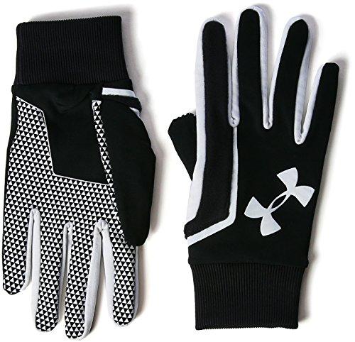 Under Armour, Soccer Field Players Glove, Guanti, Uomo, Nero (Black/White/White 003), L