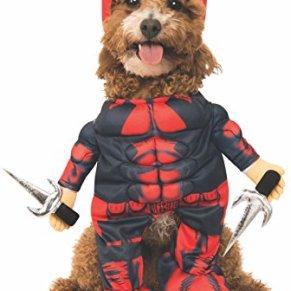 Rubie'S Marvel Deadpool - Disfraz para Mascotas (tamaño Grande)