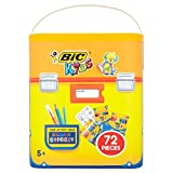 BIC 72-Piece Kids Colouring Activity Kit
