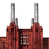 Barry Goodman Battersea Power Station su Tela, 40 x 40 cm, Motivo: Impronte, Colore