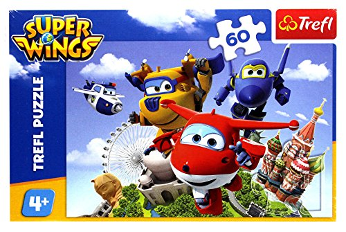 Puzzle 60 Super Wings Lot dookola swiata