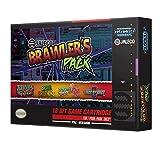 Retro-Bit Europe Jaleco Brawler's Pack PAL Version SNES Cartridge for Super NES  (Nintendo Super NES) [Edizione: Regno Unito]