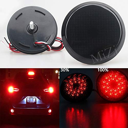 BEESCLOVER, Set di luci a LED per paraurti Posteriore Auto per Scion xB IQ Toyota Sienna Corolla...