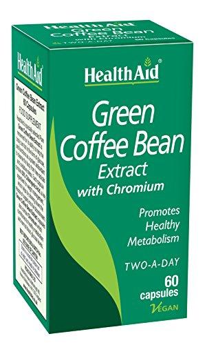 Green Coffee Bean Extract (grüner Kaffee) 60 veg. Kapseln (vegan)