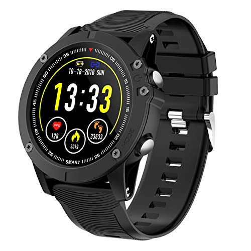 HolyHigh Smartwatch Orologio Cardiofrequenzimetro da Polso Impermeabile IP68 Smart Watch Fitness...