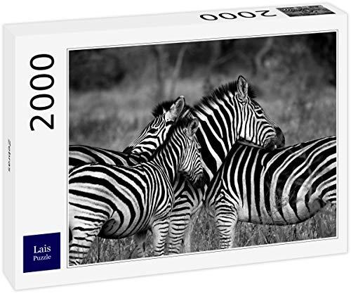 Lais Puzzle zebre 2000 Pezzi