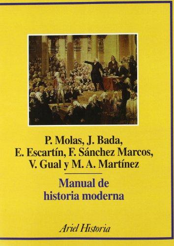 Manual de historia moderna (Ariel Historia)