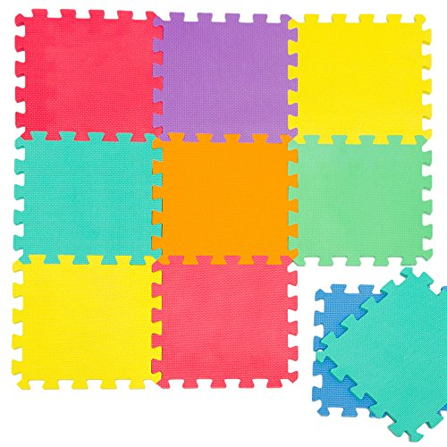 LittleTom TÜV Testato Tappeto Puzzle Bambini Tappetino Gioco Colorato Neonati