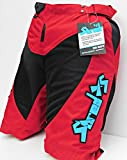 Childrens Mountain Bike Cycling Shorts (Red, 22)