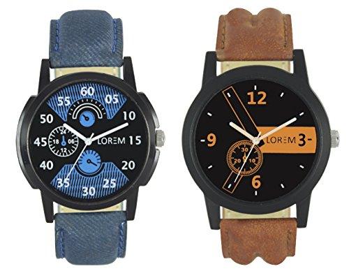 Ak Lorem Analogue Multicolor dial Men's Watches