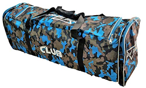 HeadTurners Team and Individual Cricket Kit Bag - Club (Blue)