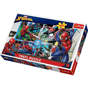 Puzzle –'160' – Spider- Man to the rescue