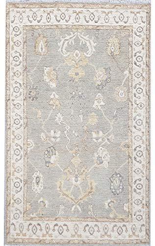 ibntradersuk - Tappeto Ziegler Chobi, 150 x 250 cm, Annodato a Mano, 100% Lana, Colore:...