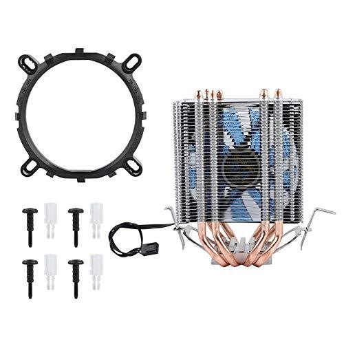 CPU Radiator, 4 Heat Pipe CPU Ventola radiatore dissipatore di Calore per Intel LGA 1155/1156/1366,...