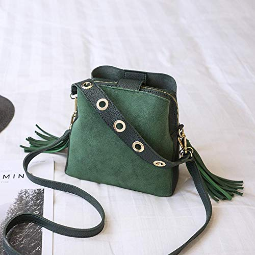 Borse a tracolla moda per borse da donna Borsa da donna Borsa a tracolla piccola con patta piccola nappa Borsa a tracolla piccola con patta