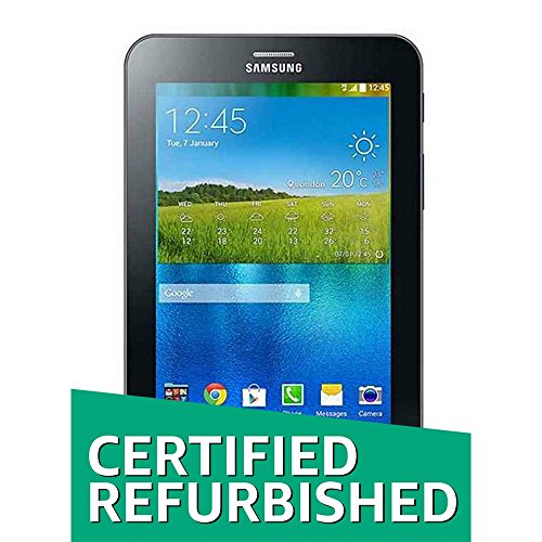 (CERTIFIED REFURBISHED) Samsung Galaxy J Max SM-T285YZKYINS Tablet (7 inch, 8GB, Wi-Fi + Voice Calling), Black