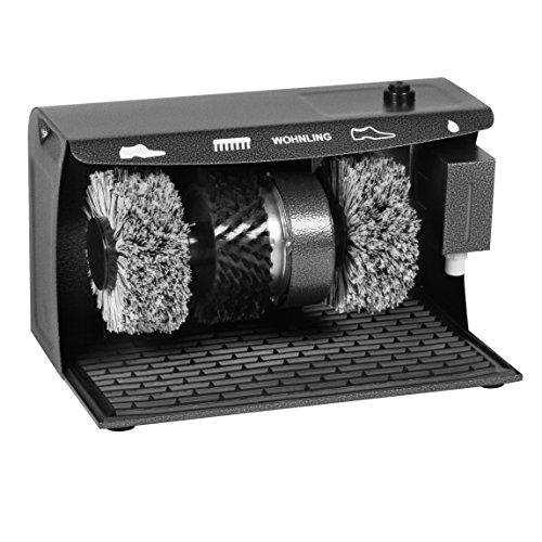 WOHNLING-Schuhputzmaschine-automatisch-mit-3-Brsten-System-elektrisch-Schuhputzautomat-hoher-Comfort-Schuhputzer-Schuh-Poliermaschine-mit-Gummimatte