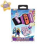 Just Dance 2020 - Dance Band - Wrist Strap - Joycon Nintendo Switch Controller Manschette - Verstellbares Gummiband mit Platz für Linken und Rechten Joy-Con