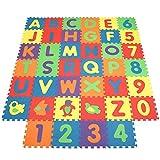 INTEY- Alfombra Infantil Puzzle para Niños 101PCS(40...