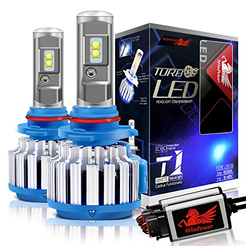 WinPower - H7 - Kit di conversione lampadine LED CREE a LED con Canbus - 70W 7200Lm 6000K bianco...