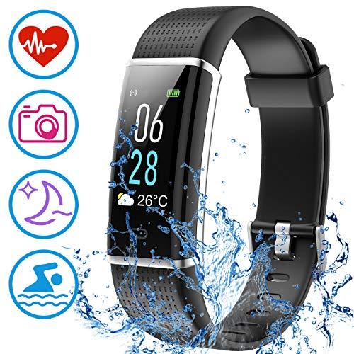 Mpow Fitness Tracker IP68 Orologio Fitness Pedometro, Cardiofrequenzimetro da Polso, Calorie,...
